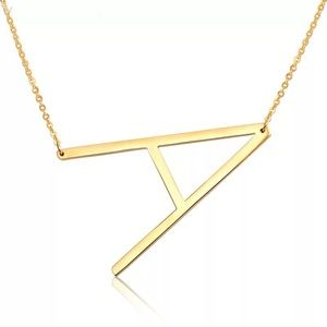 Jewelry - Initial Letters Necklace